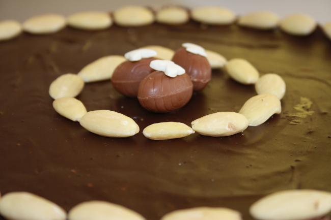 Mazurek czekoladowy łatwy