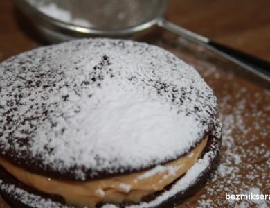 ciastka czekoladowe z kremem