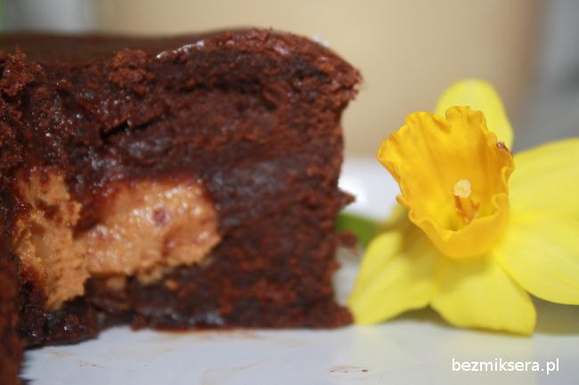 Brownie z masłem orzechowym 1