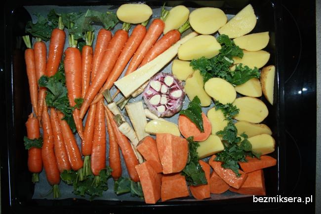 pieczone warzywa