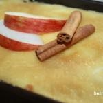Ryż z jabłkami zapiekany