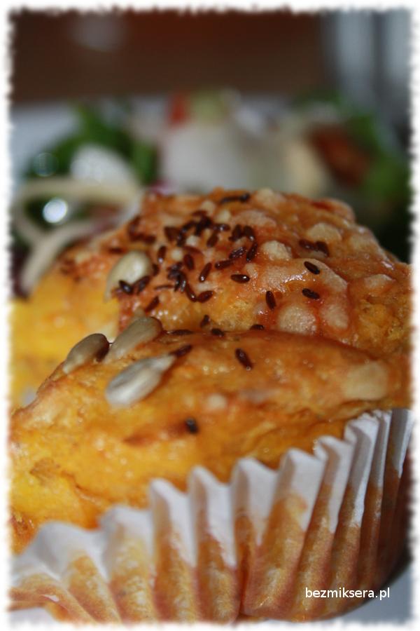 Muffiny batatowe z serami i suszonymi pomidorami