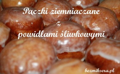 Pączki z powidłami strzeleckimi