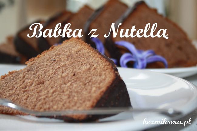 Babka z kremem Nutella