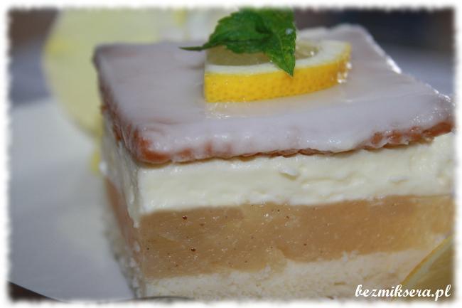ciasto cytrynowo śmietankowe