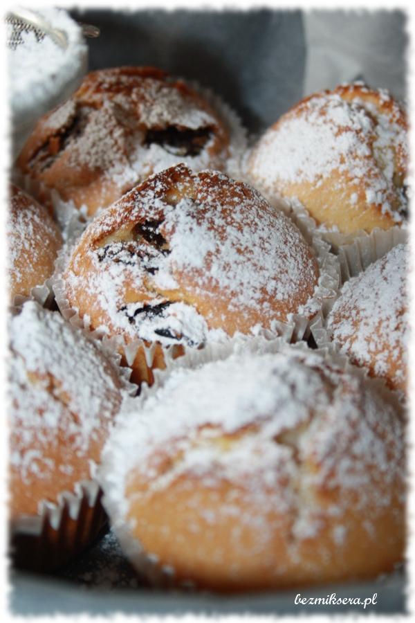 Szybkie muffiny z rodzynkami