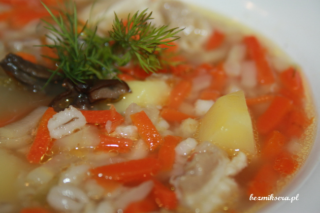 zupa z kaszą
