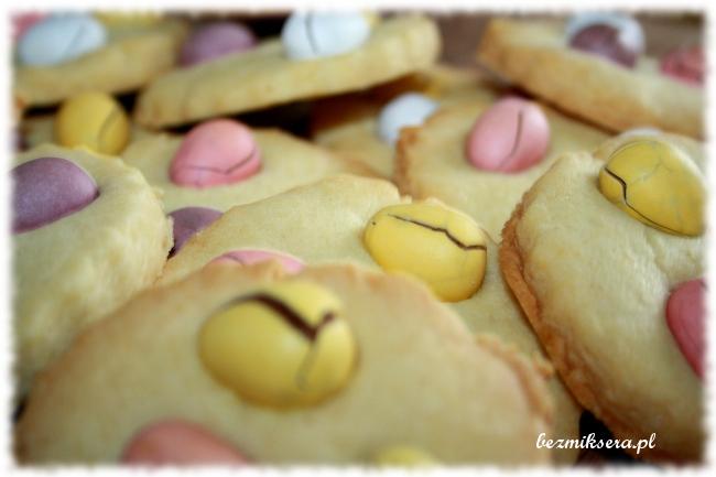Ciastka kruche na Wielkanoc
