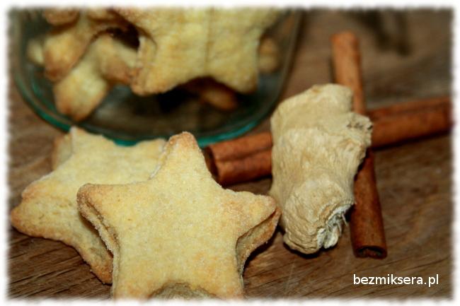 Przepis na ciasteczka cynamonowe z imbirem