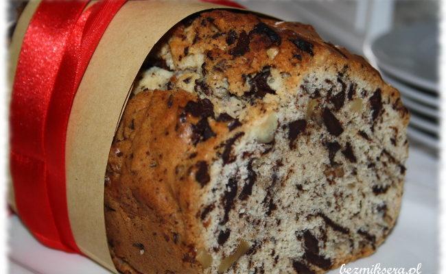 Przepis na keks czekoladowo-orzechowy