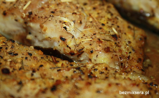 Przepis na pieczone filety z karpia