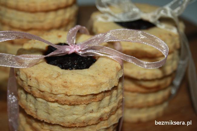 Kruche ciasteczka – kocie oczka