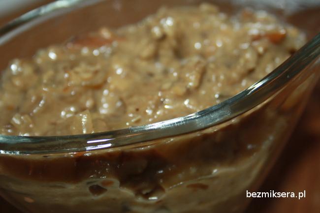 Przepis na sos z suszonych grzybów