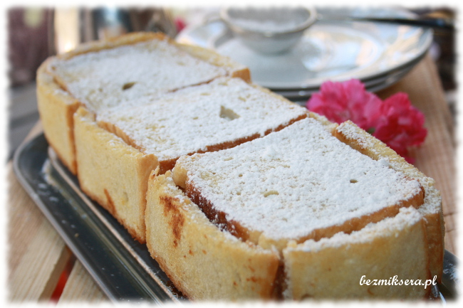 Szarlotka w chlebie