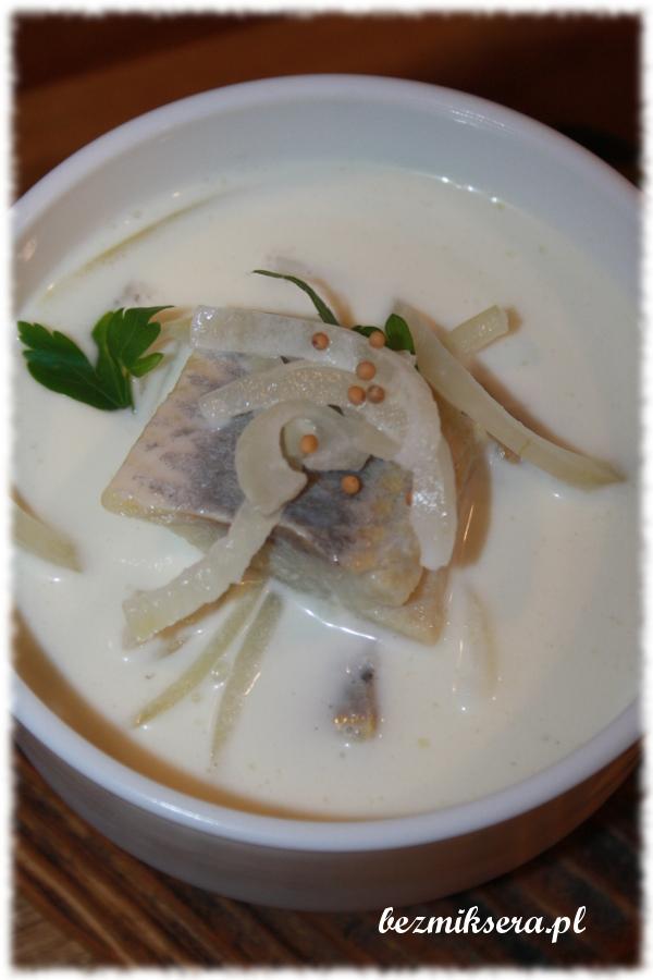 zupa śledziowa