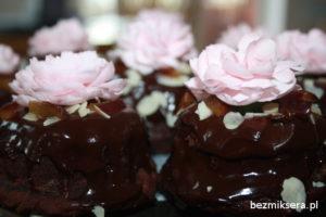 babeczki czekoladowe z powidłami