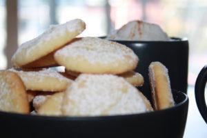 Kruche ciasteczka migdałowe