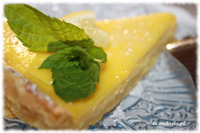 Przepis na tartę cytrynową