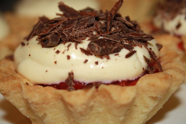 Tartaletki z truskawkami i mascarpone
