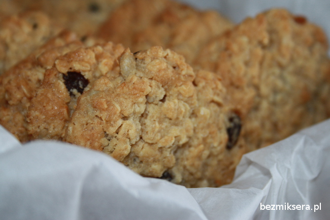 Przepis na ciasteczka owsiane