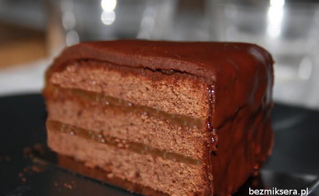 Przepis na tort Sachera