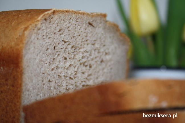 Przepis na chleb gryczano-ryżowy bezglutenowy