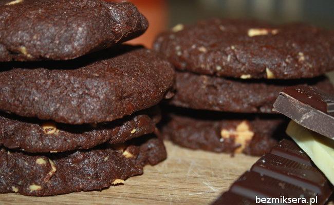 Przepis na ciasteczka podwójnie czekoladowe