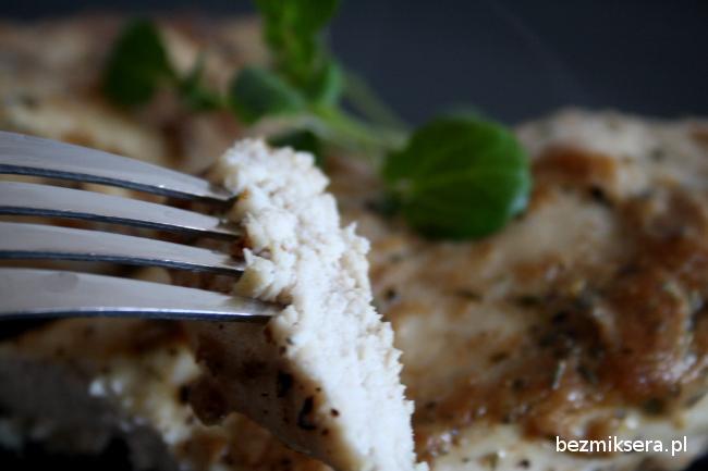 Filet z piersi kurczaka z musztardą
