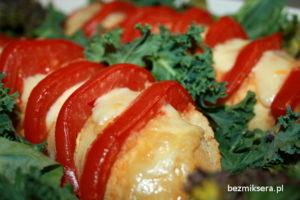 bagietka z pomidorami