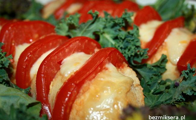 Przepis na bagietkę z pomidorami