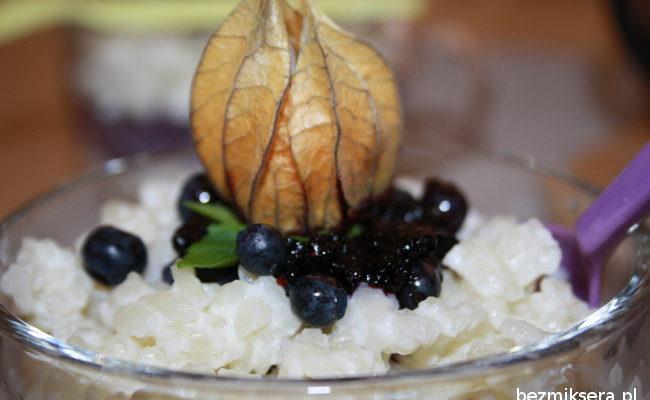 Przepis na ryż na mleku