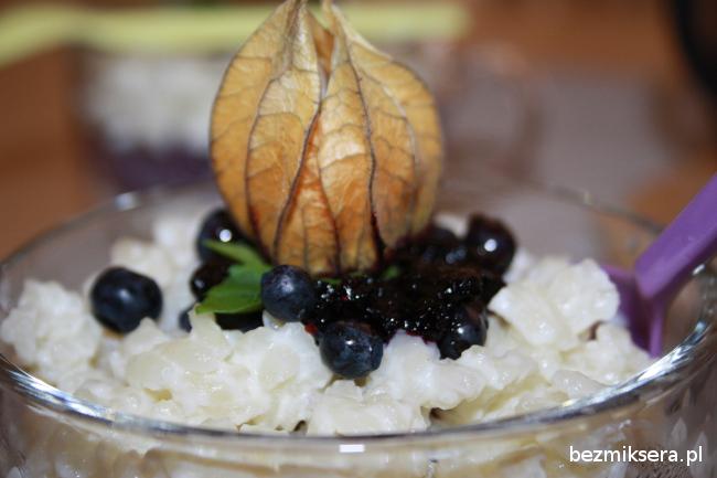 Ryż na mleku, czyli mleczne risotto