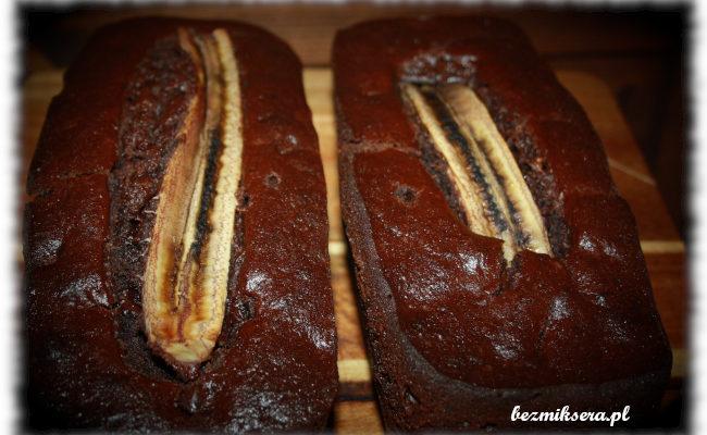 Przepis na chlebek czekoladowo-bananowy