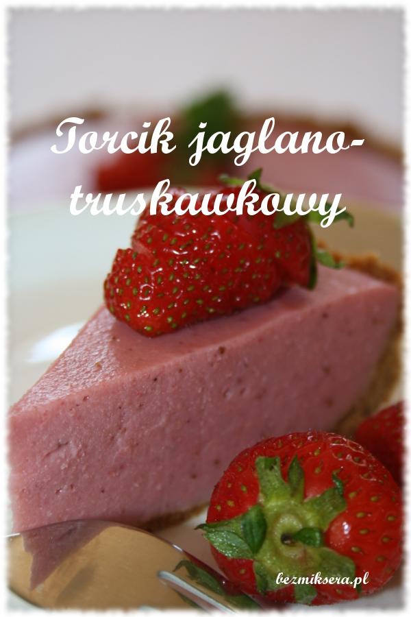torcik truskawkowy bez pieczenia