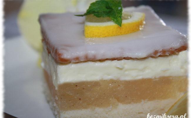 Przepis na ciasto cytrynowe z herbatnikami