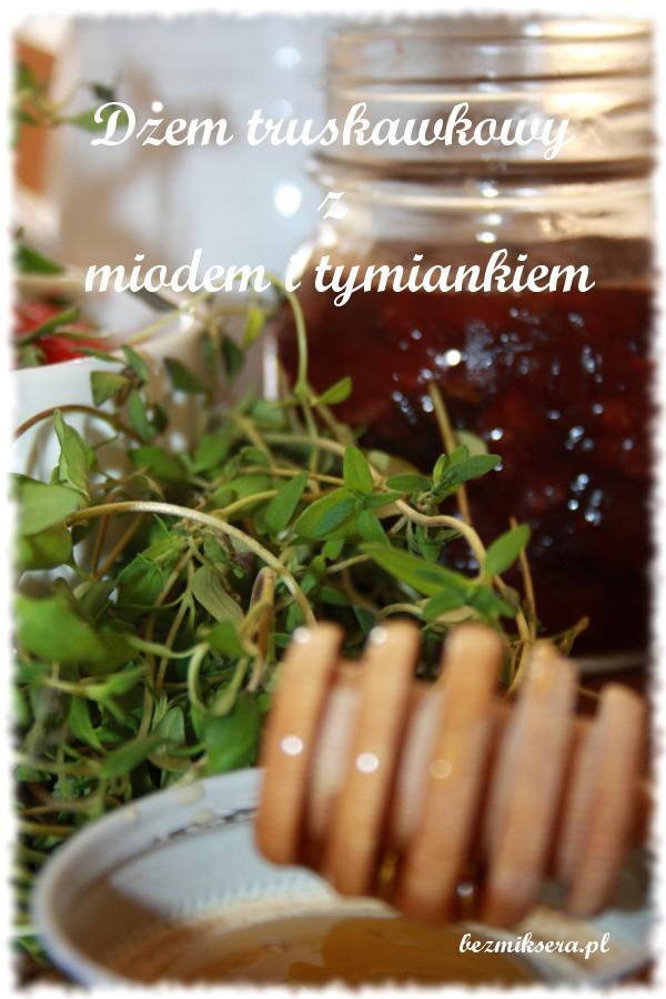 dżem truskawkowo-tymiankowy