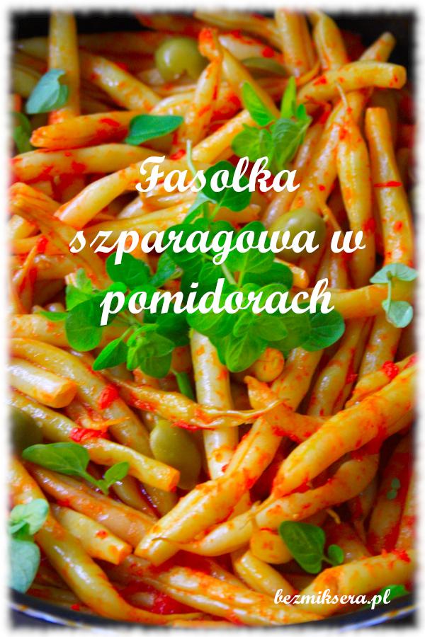 fasolka szparagowa po grecku