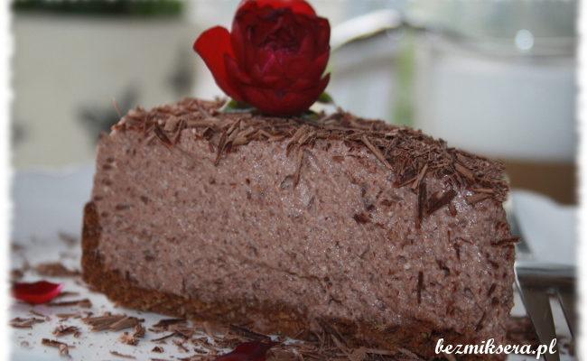 Przepis na sernik czekoladowy na zimno