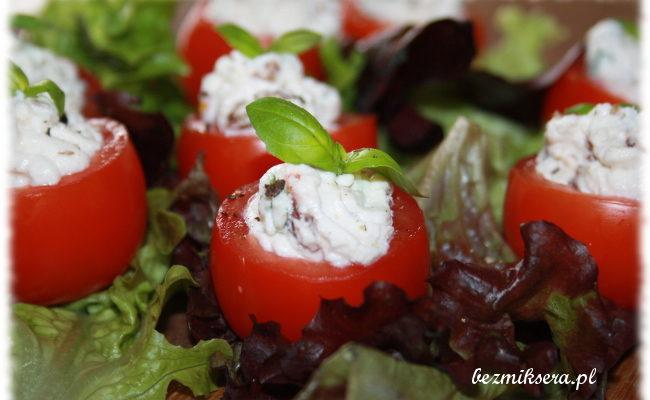 Przepis na pomidorki faszerowane serem ricotta
