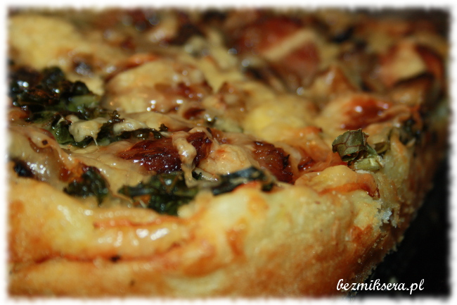 Pizza ziemniaczana bez drożdży