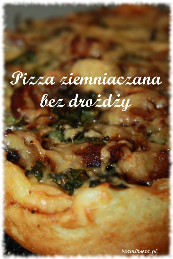 spód do pizzy bez drożdży