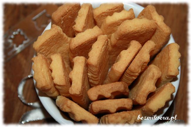 Przepis na kruche ciasteczka z maszynki