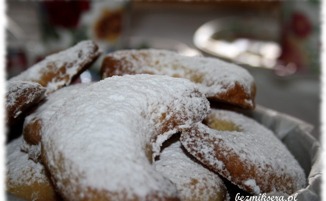 Przepis na ciasteczka waniliowe bez jajek