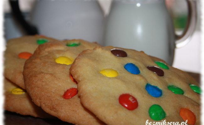 Przepis na ciastka z m&m's