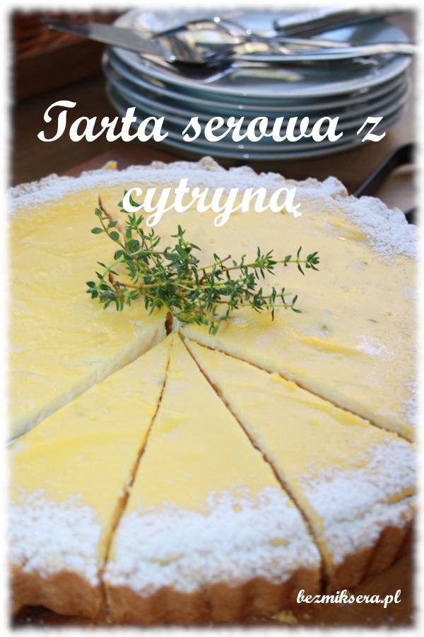 tarta serowa z cytryną