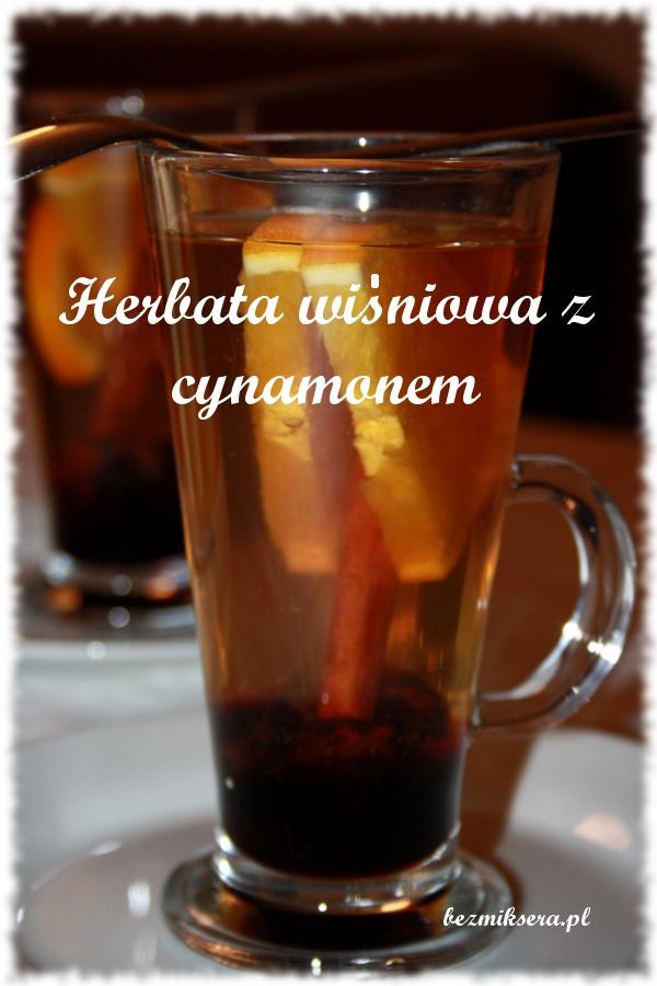 herbata z konfiturą wiśniową
